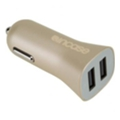 Incase High Speed Dual Car Charger Gold (CL90038)