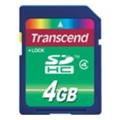 Transcend 4 GB SDHC Class 4 TS4GSDHC4