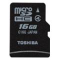 Toshiba 16 GB microSDHC class 4