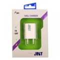 Just Trust USB Wall Charger (1A/5W, 1USB) White (WCHRGR-TRST-WHT)