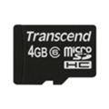 Transcend 4 GB microSDHC class 6 TS4GUSDC6