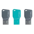 PNY 16 GB Key Attache Triple Pack (FDU16GBKEYCOLX3-EF)