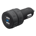Urban Revolt Dual Smart Car Charger Black (20155)