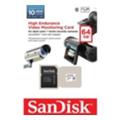 SanDisk 64 GB microSDXC High Endurance Video Monitoring Class 10 + SD adapter SDSDQQ-064G-G46A