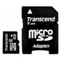 Transcend 4 GB microSDHC class 6 + SD Adapter TS4GUSDHC6