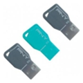 PNY 8 GB Key Attache Triple Pack (FDU8GBKEYCOLX3-EF)