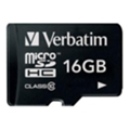 Verbatim 16 GB microSDHC class 10 + SD Adapter (44082)