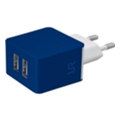 Urban Revolt Dual Smart Wall Charger Blue (20148)