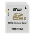 Toshiba 8 GB SDHC Class 10