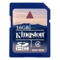 Kingston 16 GB SDHC Class 4 SD4/16GB