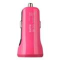 Baseus 2.1A Dual USB Car Charger Sport Rose (CCALL-CR0R)