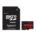 Apacer 64 GB microSDXC Class 10 UHS-I R85 + SD adapter AP64GMCSX10U5-R