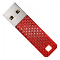 SanDisk 8 GB Cruzer Facet Red SDCZ55-008G-B35R