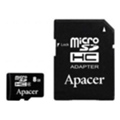 Apacer 8 GB microSD Class 4 + SD adapter