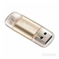 Apacer 64 GB AH190 Lightning Dual USB 3.1 Gold (AP64GAH190C-1)