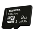 Toshiba 8 GB EXCERIA Type HD microSDHC UHS-I SD-CX08HD