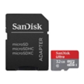SanDisk 32 GB microSDHC UHS-I + SD adapter SDSQUNC-032G-GN6IA