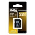 GoodRAM 32 GB microSDHC class 10 UHS1 + SD Adapter SDU32GHCUHS1AGRR10