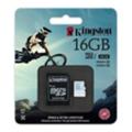 Kingston 16 GB microSDHC class 10 UHS-I U3 + SD Adapter SDCG/16GB