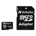 Verbatim 16 GB microSDHC class 4 + SD Adapter (43968)