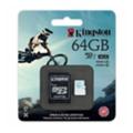 Kingston 64 GB microSDXC class 10 UHS-I U3 + SD Adapter SDCG/64GB